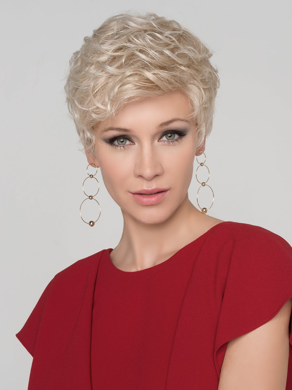 Kiss By Ellen Wille Short Wig With Monofilament Crown