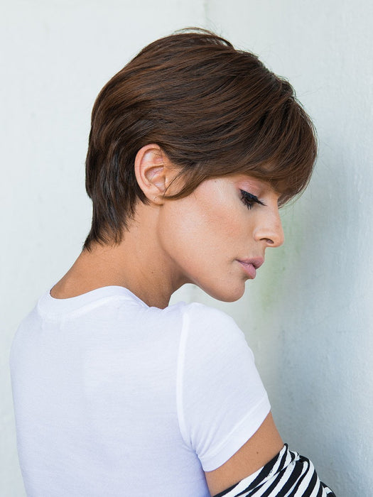 GO FOR IT by RAQUEL WELCH in SS9/30 SHADED COCOA | Dark Dark Brown with Subtle Warm Highlights  Roots