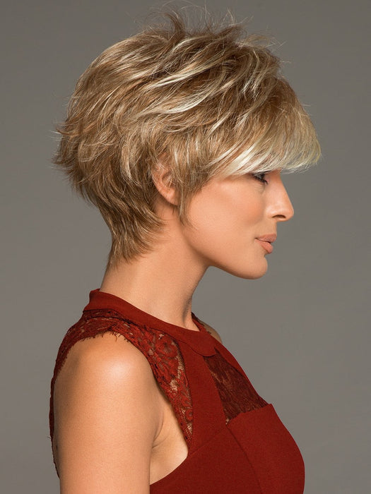 RONI by NORIKO in STRAWBERRY SWIRL | Honey Blonde Evenly Blended with Platinum Blonde