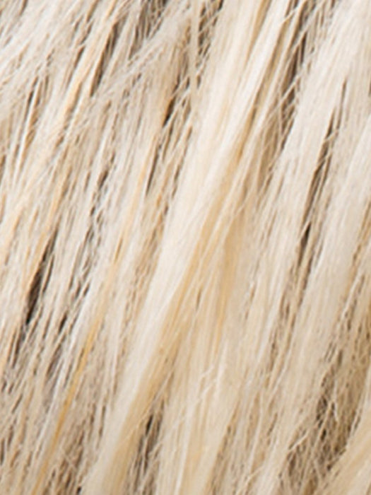PASTEL BLONDE ROOTED | Platinum, Dark Ash Blonde, and Medium Honey Blonde blends With Dark Roots