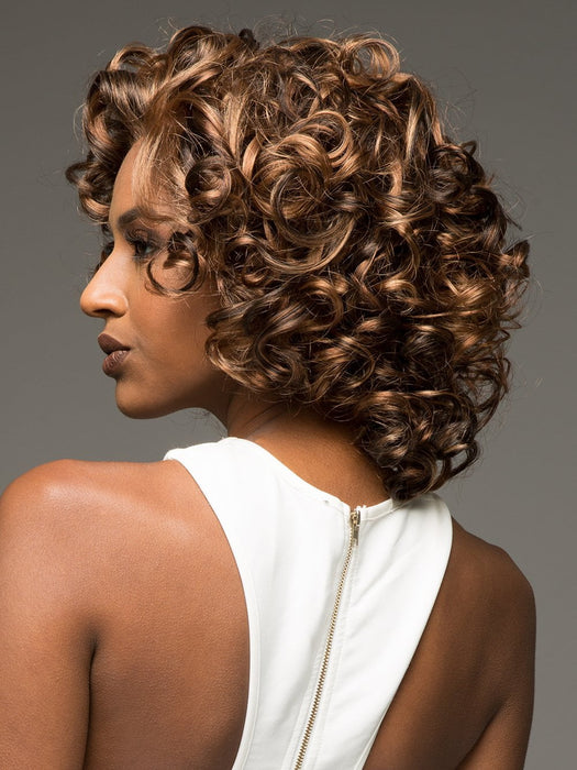 CHILLI by VIVICA FOX in P4/27/30 | Piano Color. Medium Dark Brown, Honey Blonde, and Copper Blonde