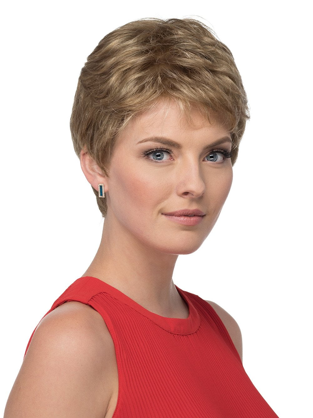 Short Pixie Cut with Tapered Nape
