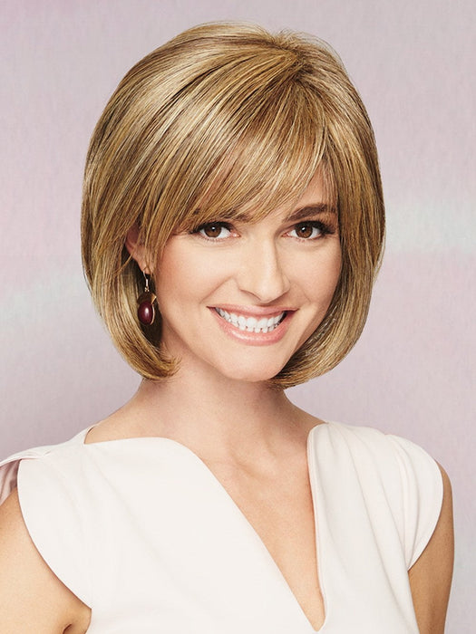 A classic bob that is made more endearing by softly sculpted layers that frame the face