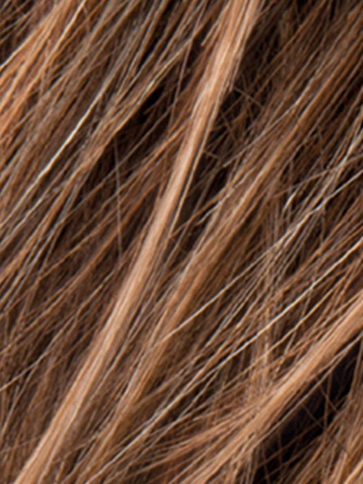 HOT MOCCA ROOTED | Medium Brown, Light Brown, and Light Auburn Blend