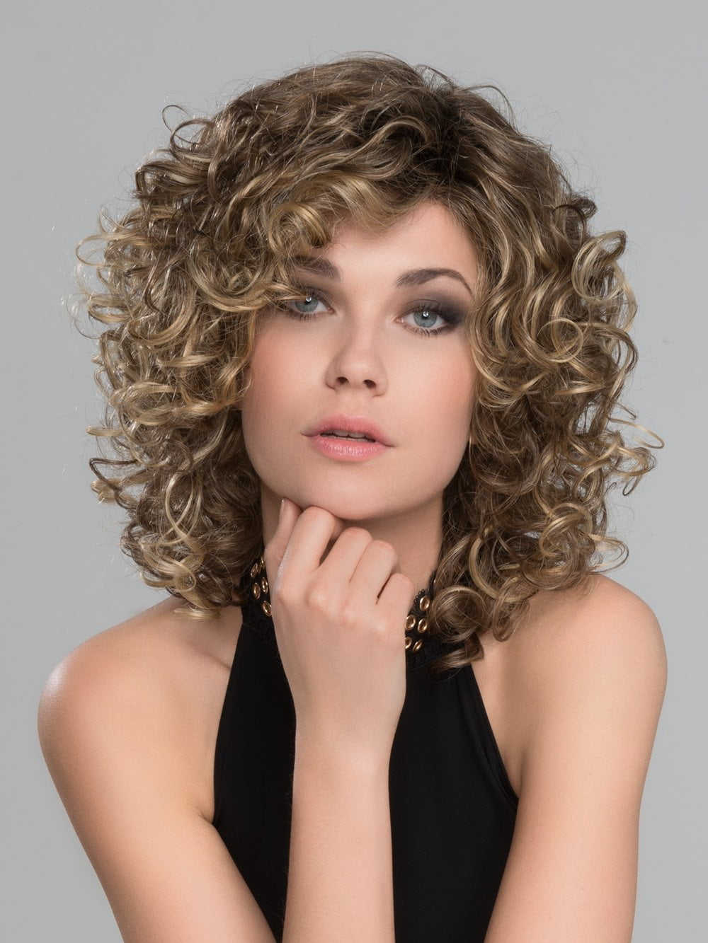 Jamila Plus Hair Power By Ellen Wille Curly Lace Front