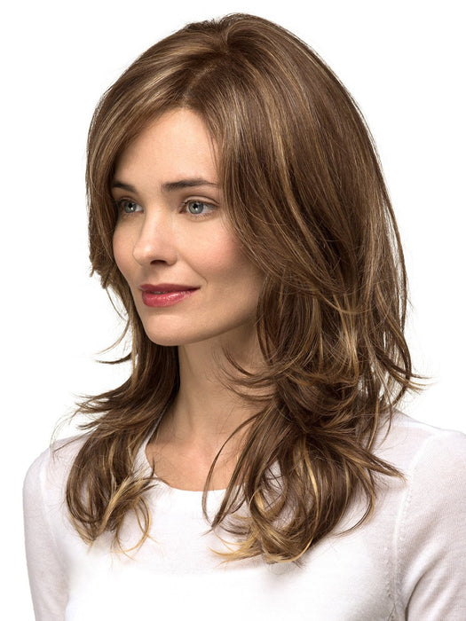 Long, Layered Cut with Free Flowing Waves & Face Framing Layers