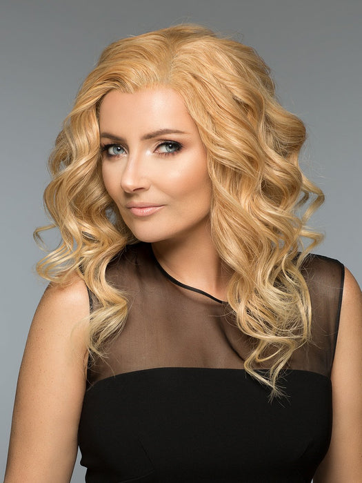 Jacquelyn by Wig Pro in Golden Blonde | 4 color Blonde Blend = 14,24,613,88