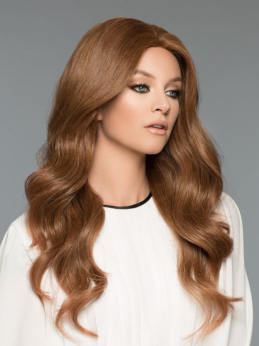 Amber by Wig Pro in 6/30T | Medium Chestnut Brown tipped w/ Russet