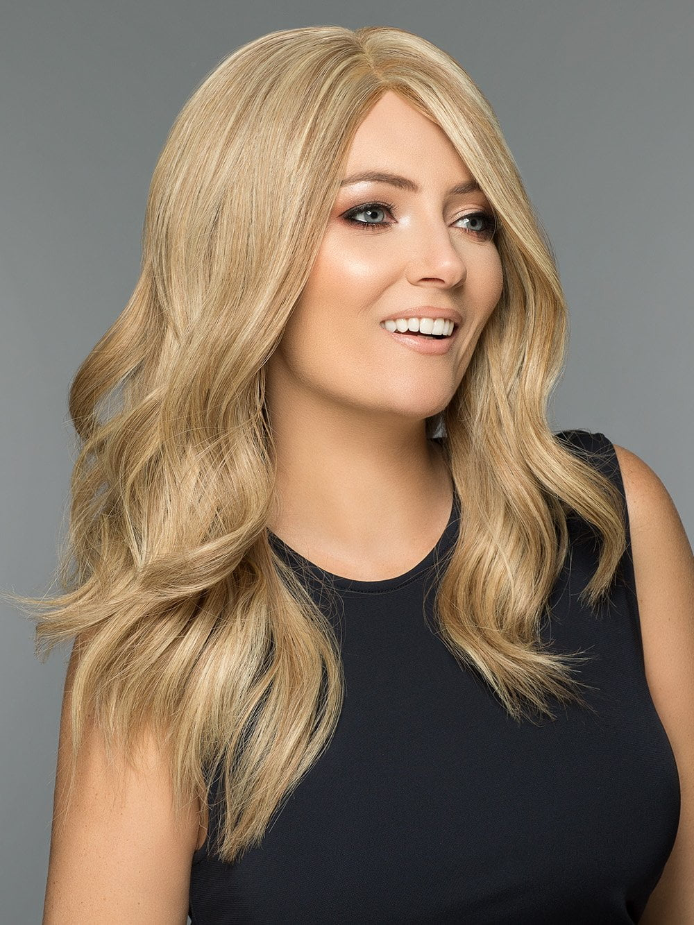 Alexandra Human Hair by Wig Pro in 18/22 | Light Ash Blonde blended w/ Beige Blonde
