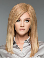 Adelle by Wig Pro in Flame | Russet base highlighted w/ Strawberry Blonde & Ash Blonde