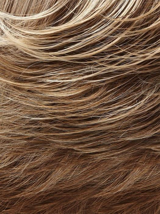 10/22TT  | Light Brown and Light Natural Blonde Blend with Light Brown Nape