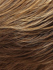 10/26TT - Light brown & medium red golden blonde blend with a Light brown nape