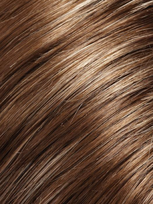 10RH16 LATTE | Light Brown with 20% Light Natural Blonde Highlights
