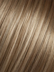 14/263TR CHAMPAGNE BLUSH | Creamy White Blonde Base transitioning to Strawberry Blonde with Light Auburn highlights