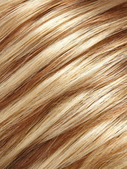 14/26 - Medium natural ash blonde & Medium red golden blonde blend