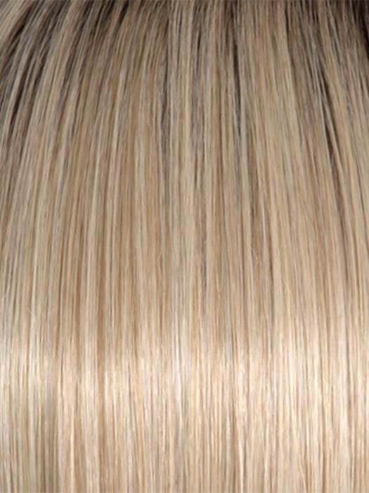 RL16/22SS SHADED ICED SWEET CREAM | Pale Blonde with Slight Platinum Highlighting with Dark Roots