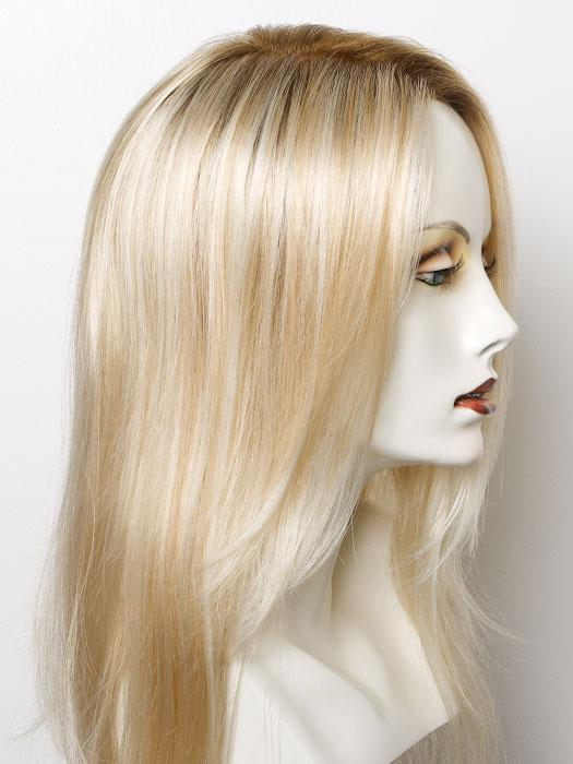 FS24/102S12 LAGUNA BLONDE | Lt Gold Brown w/ Pale Natural Gold Blonde Blend, Shaded w/ Med Brown