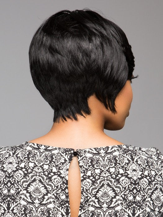 Tapered neckline with fullness | Color: 1B