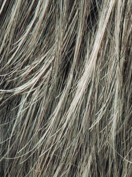 STONEGREY ROOTED 48.51.60 | Blend of Medium Brown Silver Grey and white with Dark Roots