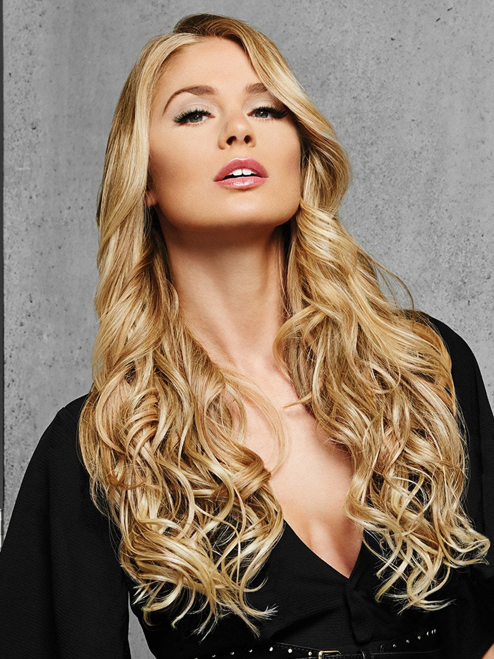 Just Clip In and Go! With this 1 piece extension system bu HAIRDO its easy to add length that's pre-styled to match