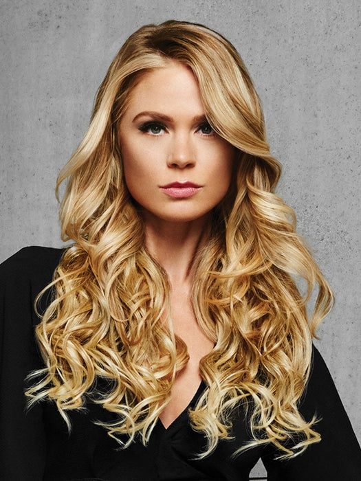 22 Curly Clip In Hair Extension 1 Piece System By Hairdo Wigs