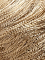 22F16 - Light ash blonde & Light natural blonde blend w/Light natural blonde nape