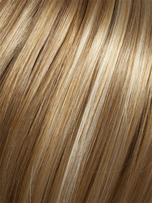 234/23C VANILLA SWIRL | Medium Golden Blonde with Ginger tones with Platinum Blonde highlights