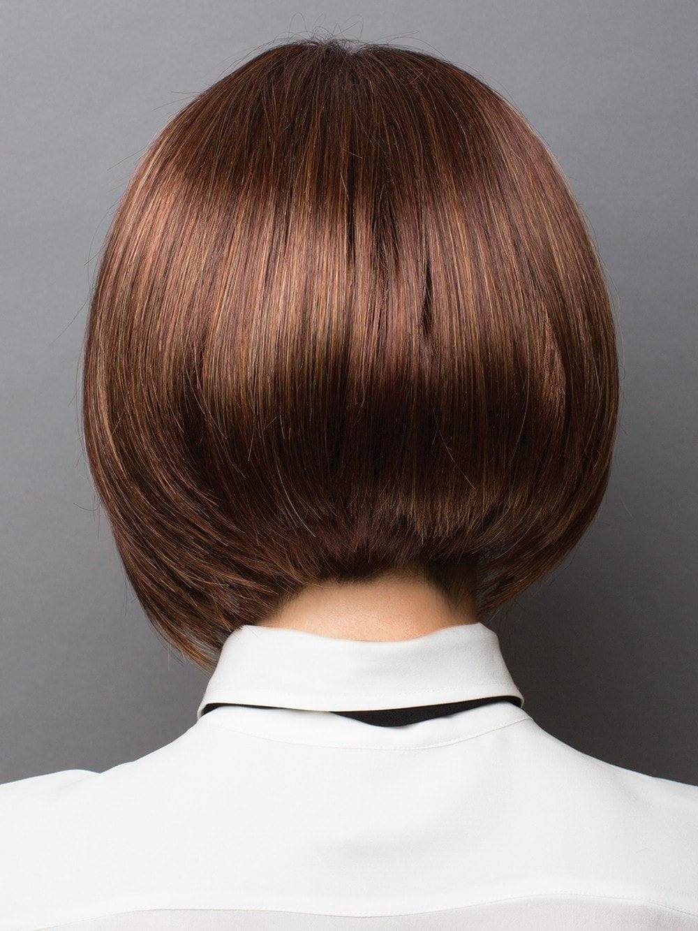 Modern bob with great thickness in fringe