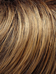 24BT18S8 | Shaded Mocha : Dark Ash Blonde/Honey Blonde Blend, Shaded w/ Med Brown