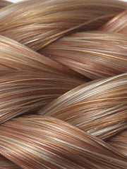 27/27B/27C PEACH SWIRL | Medium Red-Gold Blonde, Light Red-Gold Blonde, Medium Red-Gold Blonde