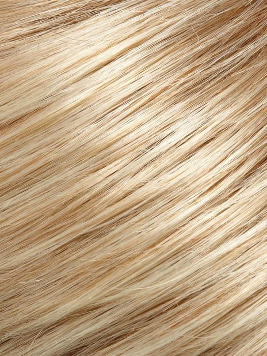27T613F | Medium Red-Gold Blonde and Pale Nat Gold Blonde Blend with Pale Tips and Medium Red-Gold Blonde Nape