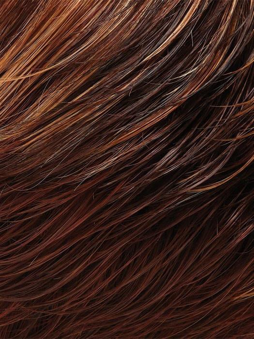 32F CHERRY CRÈME | Dark and Medium Red Brown, Light Red-Gold Blonde Blend