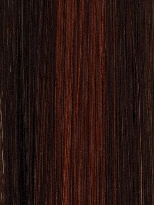 33/32C CHERRY COLA | Dark Auburn Base with Bright Auburn chunky highlights