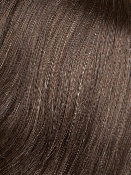 36 Medium Dark Brown Blended with 10% Grey