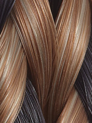 4/27/28 TWISTED MOCHA | Darkest Brown, Medium Red-Gold  Blonde, Light Red Braid