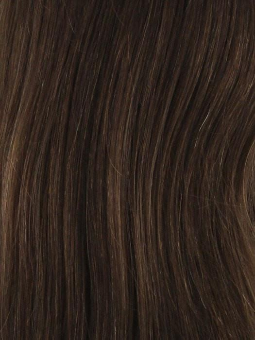 4/6/8/33 | Darkest Brown blended with medium and light chestnut brown and dark auburn