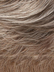 54F48 COCKTAIL | Light Grey with 25% Medium Natural Gold Blonde Front, graduating to Light Brown with 75% Grey Nape