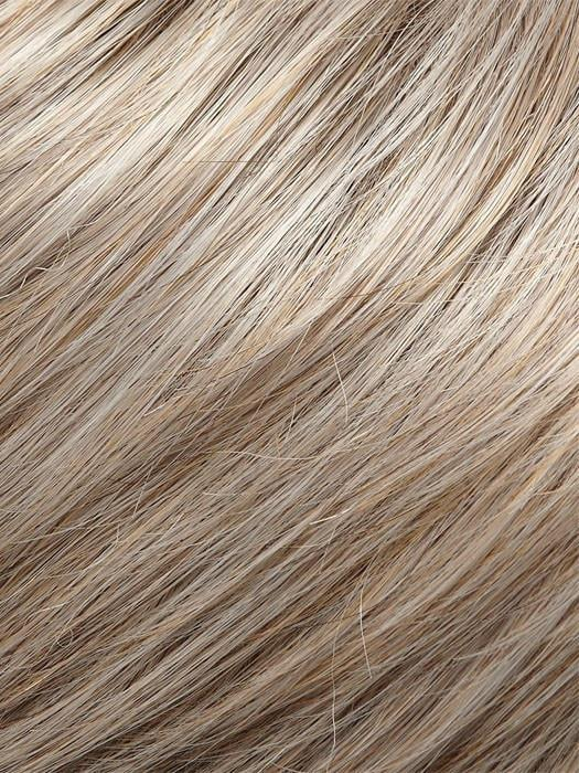 54 VANILLA MOUSSE | Light Grey with 25% Medium Natural Gold Blonde