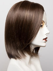 8RH14 HOT COCOA  | Medium Brown with 33% Medium Natural Blonde Highlights