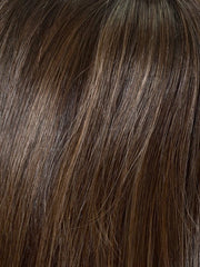 AMARETTO CREAM | Dark Brown roots with overall Medium Brown base with Honey Blonde highlights