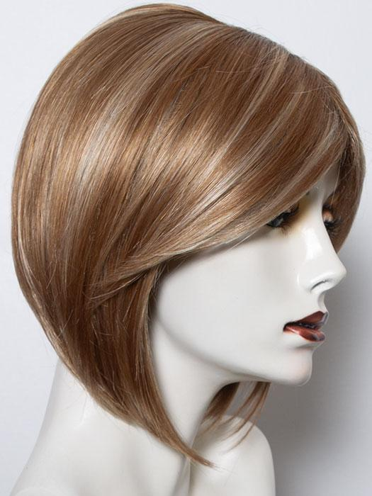 NUTMEG R | Dark Honey Brown Base with Strawberry Blonde Highlights