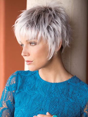 Billie by Noriko is a short pixie style wig.