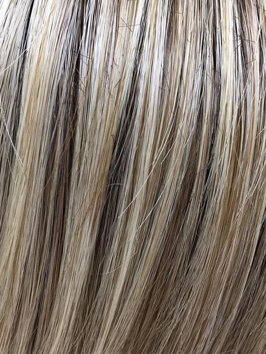 BUTTERBEER-BLONDE | Cool Light Blonde, Light Ash Blonde, and Golden Blonde with Medium Brown Roots