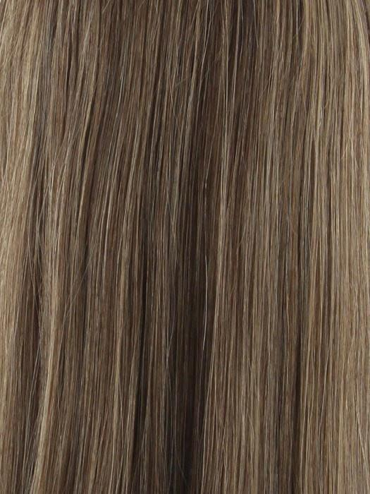 Caramel Brown  | A blend of colors 6,8,12