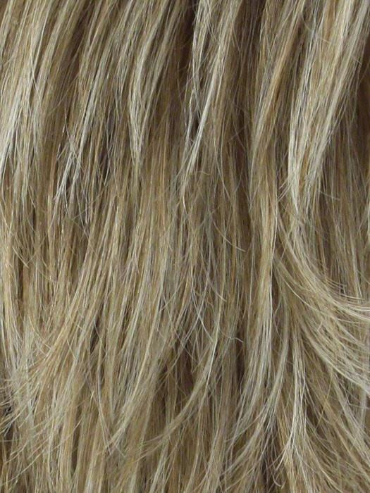 CARAMEL CREAM | Caramel Blonde blended with Platinum Blonde, Blonde tips