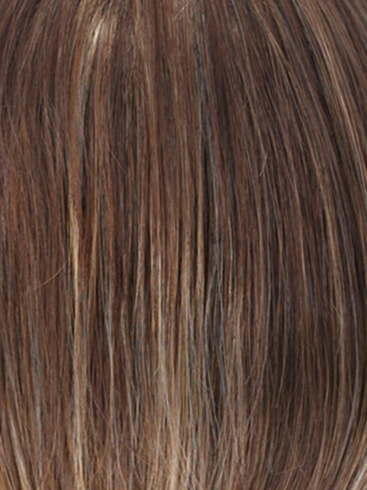 CARAMELKISS | Golden Brown with Light Copper Blonde Highlights