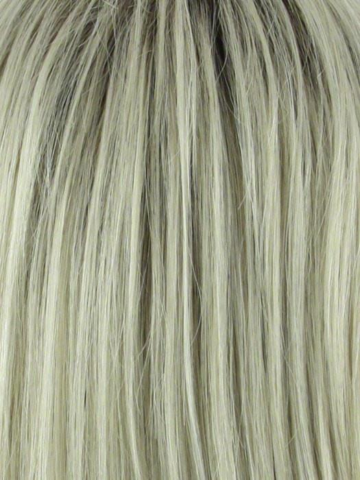CHAMPAGNE R | Rooted Dark with Platinum Blonde