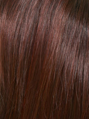 CHOCOLATE CHERRY | Dark Brown roots with overall Medium Brown base with Deep Red highlights