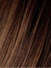 CHOCOLATE ROOTED | Medium to Dark Brown base with Light Reddish Brown highlights with Dark Roots