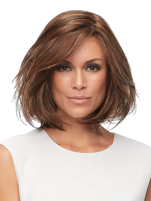 The sheer lace front allows you to change your look and style your hair away from the face